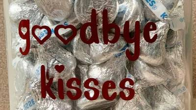 Bittersweet goodbye: Alabama vet has jar of kisses for dogs being put down